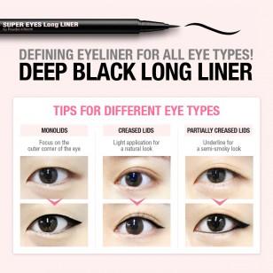 SO NATURAL SUPER LONG LINER 防水眼線