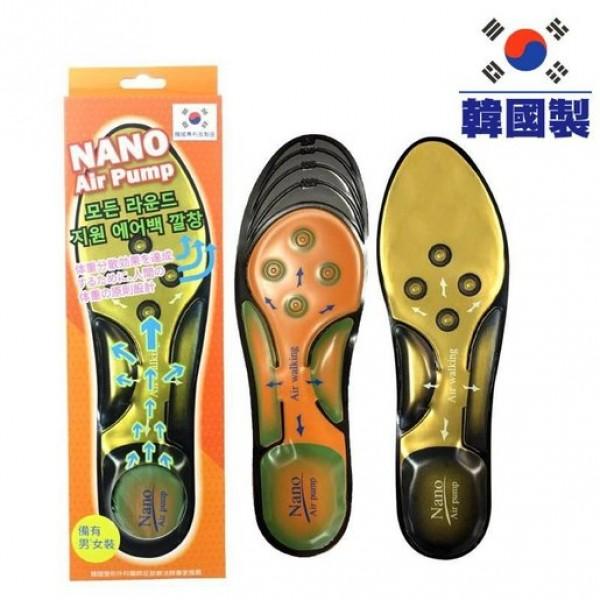 澳洲 NANOSOLE NANO Air Pump 全方位承托氣囊鞋墊