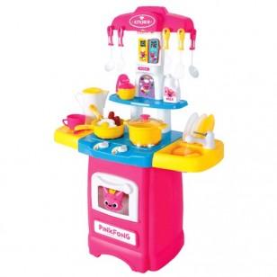 【預訂】韓國直送 PinkFong 五臟俱全小廚房 有聲有燈玩埋真水