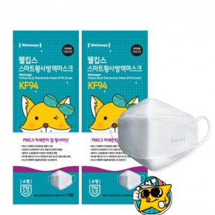 韓國小狐狸防霧黃沙抗菌PM2.5KF94口罩